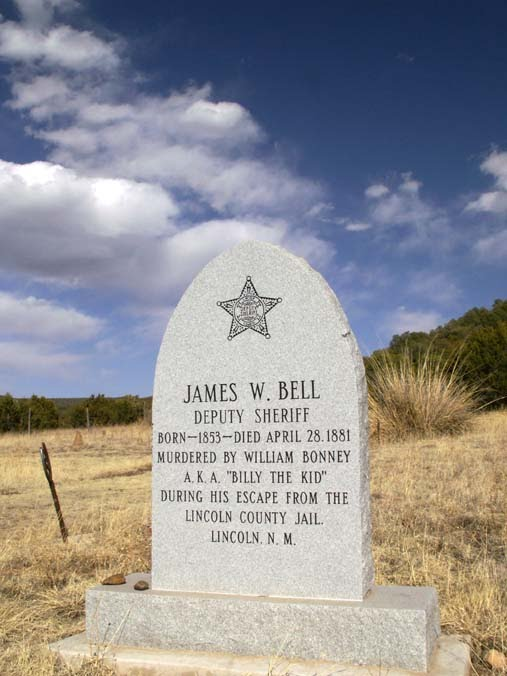 billy the kid grave site. Another grave with ties to