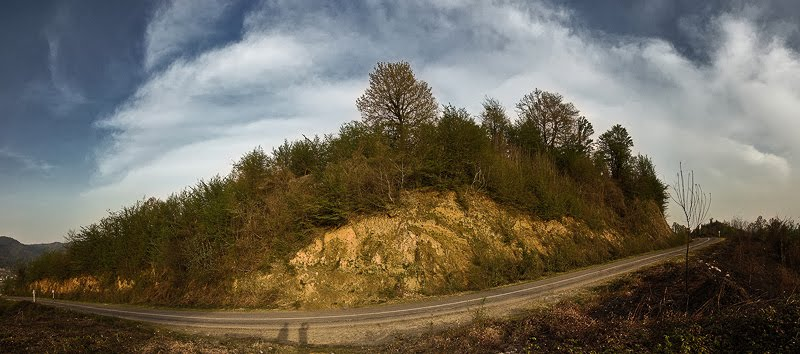 Nikon D70s, 1/500s, F9, ISO400, Panorama, 6 vertical Shots