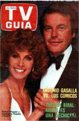 Robert Wagner Stefanie Powers In