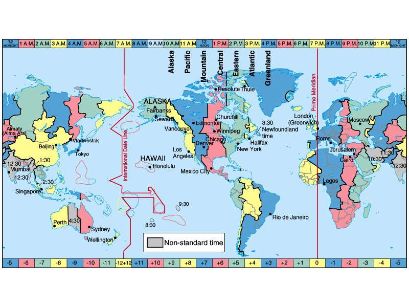 Map Of Time Zone In United States Of America York County Pa Tophowk