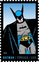 An Illustrated Presentation of the Batman Stamps of the USA, by Derwin Mak