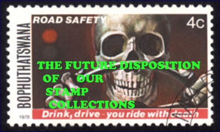 """Disposing of our collections in the future, """"You can't take it with you"""""""