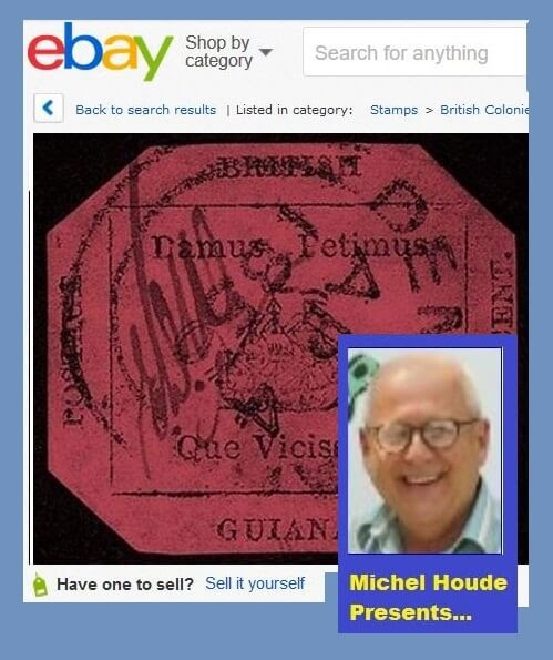 Michel Houde - How to sell stamps on eBay
