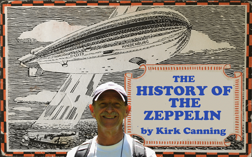 Kirk Canning Presents at the NTSC Zeppelin Stamps