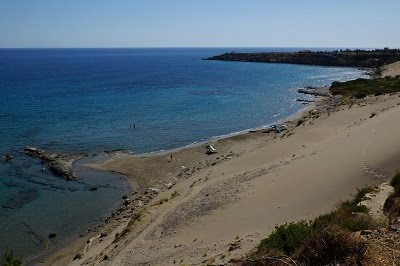 orthi ammos beach in fragocastello