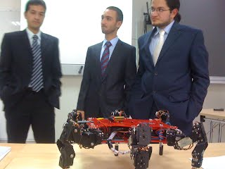 Final Robot at the Defence