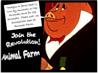 animal farm parallels in the book animal farm Animal farm by george orwell george orwell's novel animal farm does an excellent job of drawing parallels from the situation leading up to the russian revolution of 1917 animal a new leader with better ideas and ways to keep russia alive.
