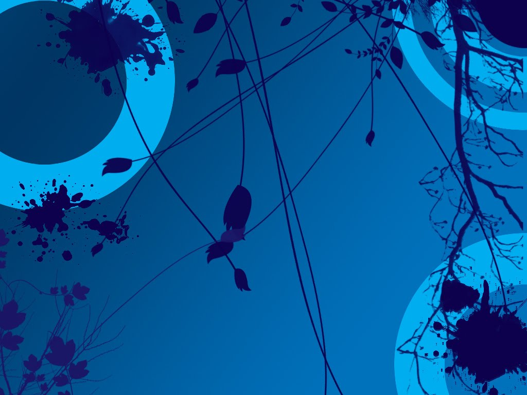 digital art, vector, blue desktop, abstract art