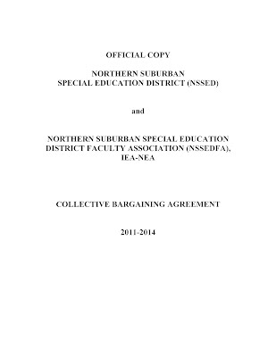Collective Bargaining Agreement 2011-14 - Nssed Faculty Association