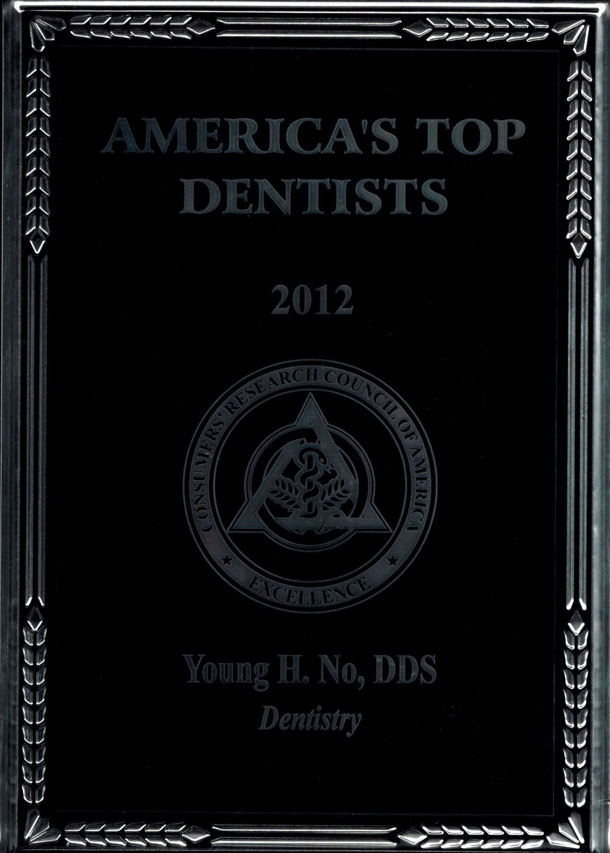 Top Dentist 2012