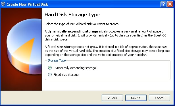 Hard disk storage type