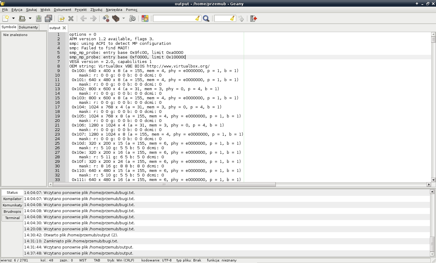 VirtualBox Serial Debugging on Linux | Haiku Project