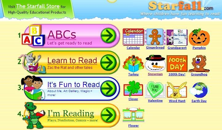 starfall games for kids school