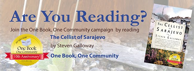 The Cellist of Sarajevo by Steven Galloway: OBOC 2013