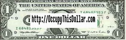 Occupy THis Dollar Banner