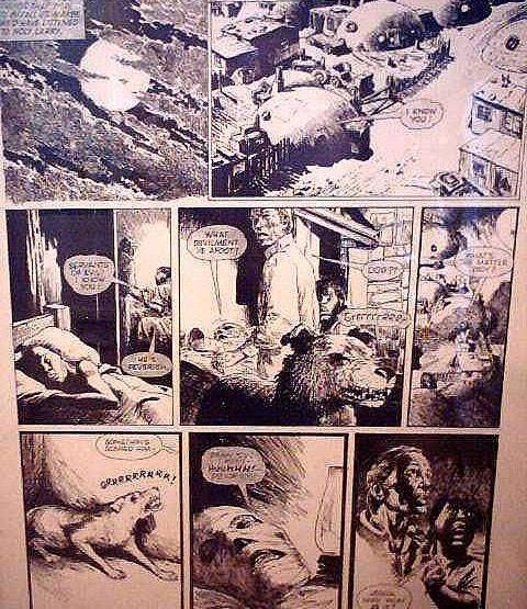 Page 3, The Dead Man #2, by John Ridgway