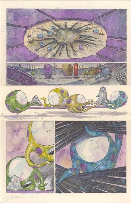 Page 5, Sinister Dexter: 'The Off-Lode Experience' #4, by Simon Davis
