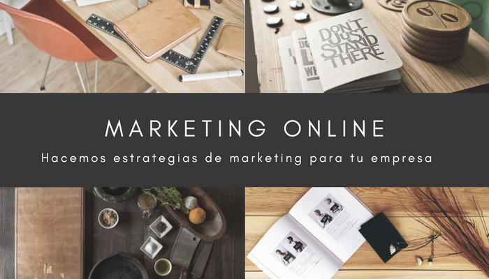 Hacemos estrategias de marketing online
