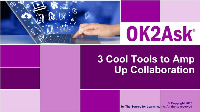 Title Slide Image for 3 Cool Tools to Amp Up Collaboration