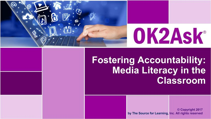 Title Image for Fostering Accountability: Media Literacy in the Classroom