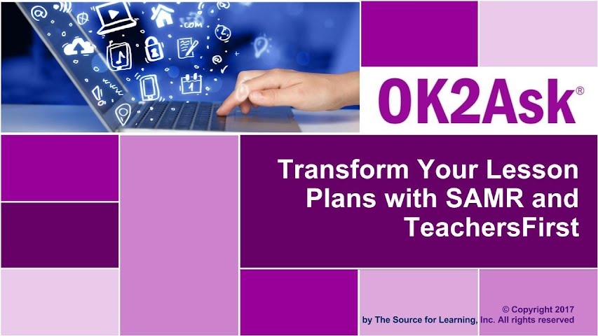Title Slide Image for Transform Your Lesson Plans with SAMR and TeachersFirst