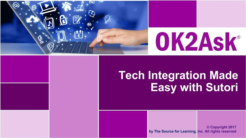 Title Slide Image for Tech Integration Made Easy with Sutori