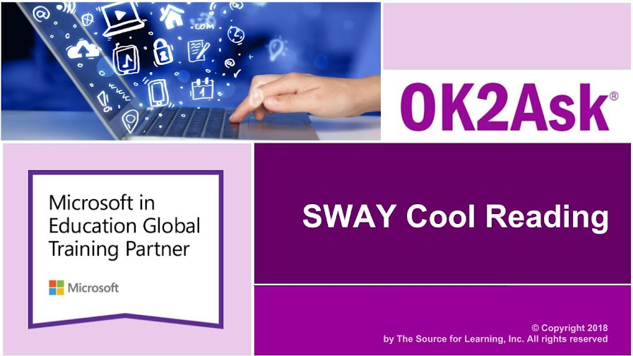 Title Slide Image for SWAY Cool Reading