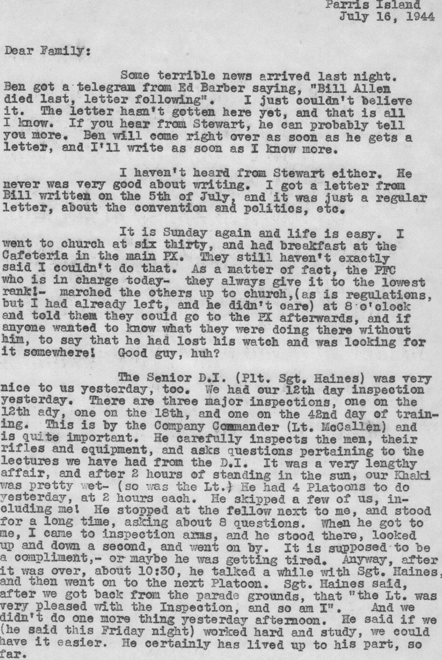 From OCS to China the Letters and Pictures of Lt. Robert Wirts 6th