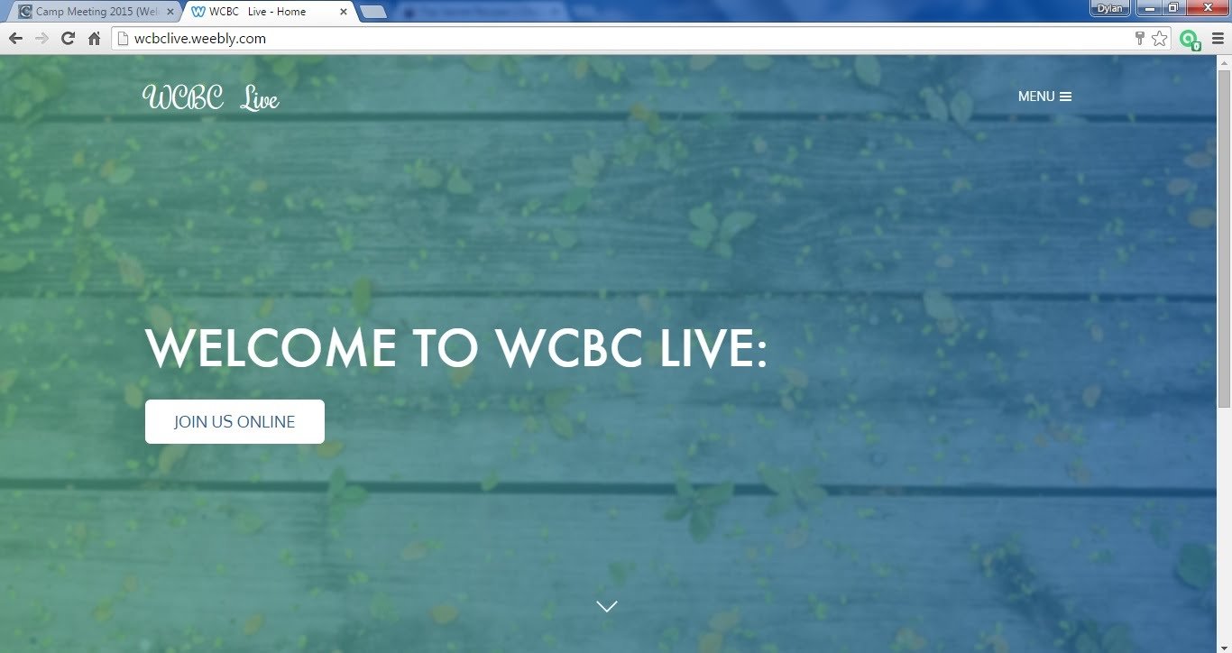 Click to visit WCBC Live!