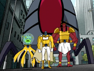 The Galactic Enforcers - Ben 10 Omniverse