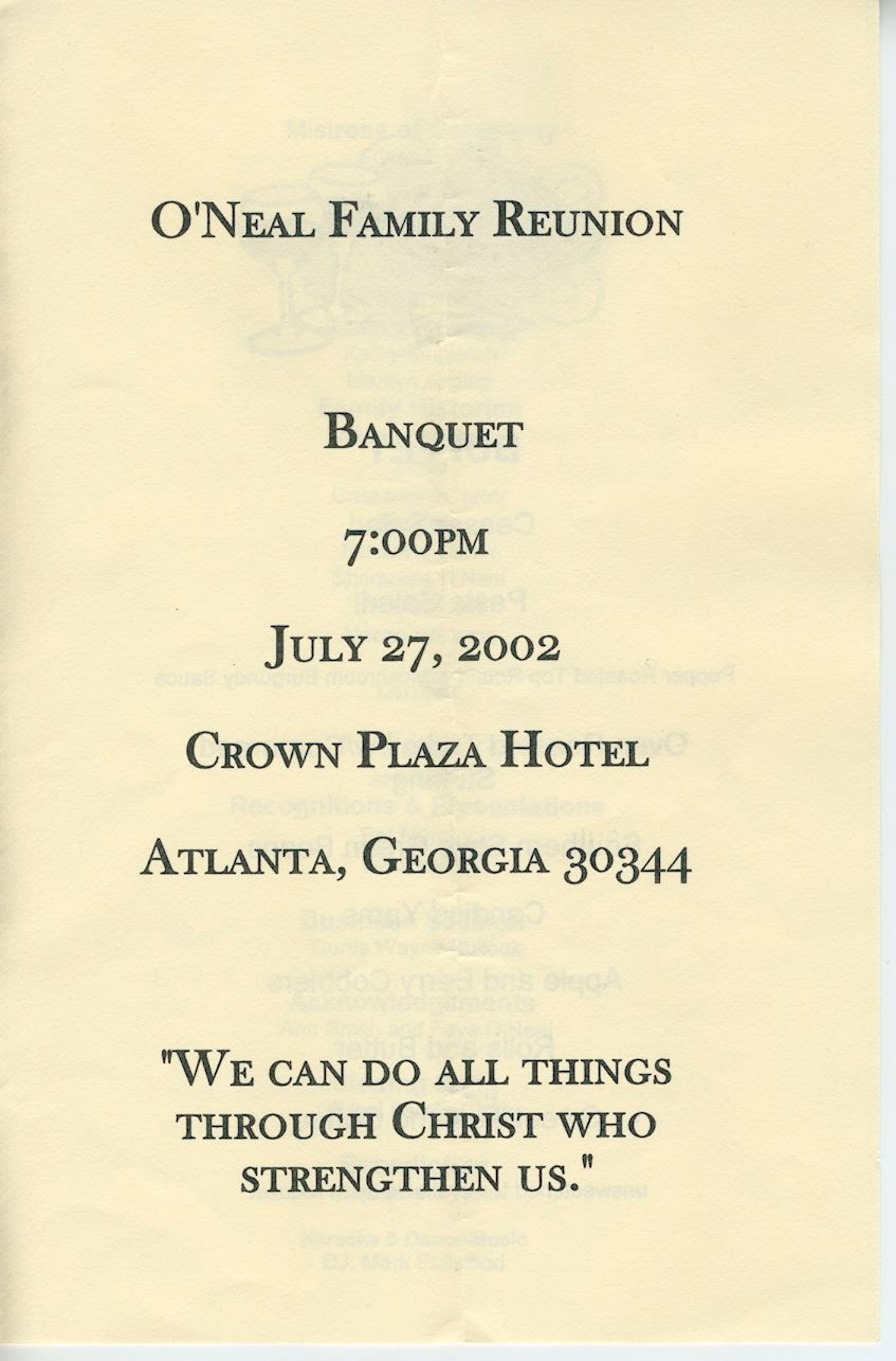 Click On The Image To See A Larger Version In A New Window.  Banquet Agenda Template