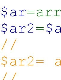 Other Ways of Initializing Arrays in PHP