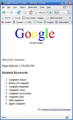 "Web Scraping: Gathering ""Related Searches"" Keyword Data From Google Search Results"