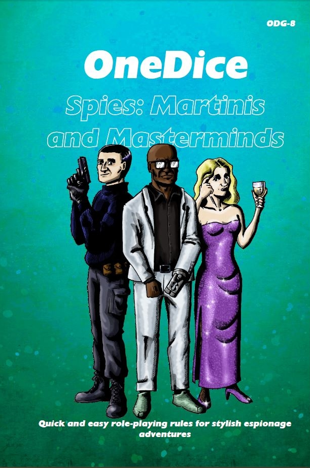 Spies: Martinis and Masterminds