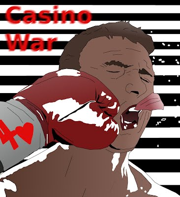 Casino war face punch