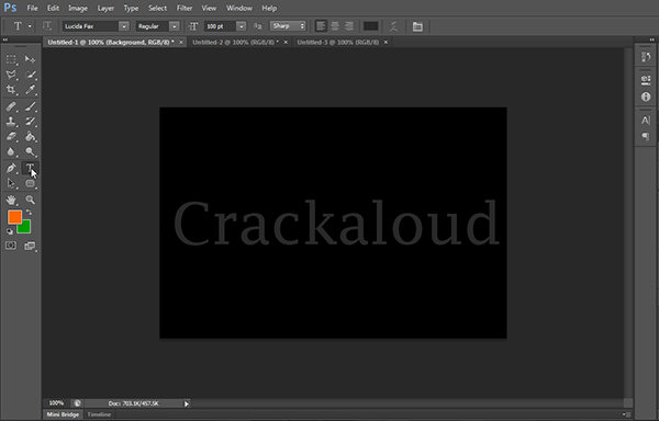 How To Create A Glossy Text Effect Using Adobe Photoshop CS6