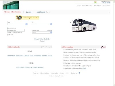 ONLINE BUS TICKET BOOKING SYSTEM PROJECT SYNOPSIS AND FINAL