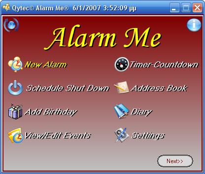 Alarm Me 3.3