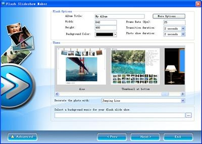 Flash Slideshow Maker 4.02
