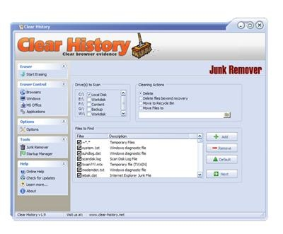 Clear History 1.9