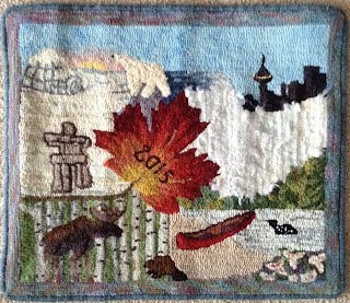 PanAm rugs from OHCG members - Ontario