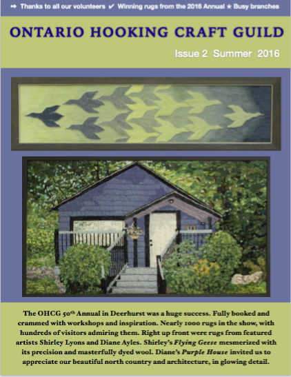OHCG Summer Newsletter 2016