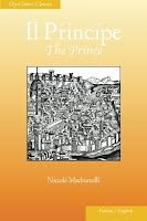 Il Principe: The Prince, Italian-English