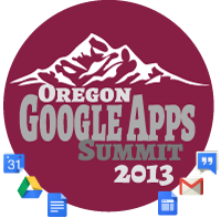 2013 Oregon Google Summit logo