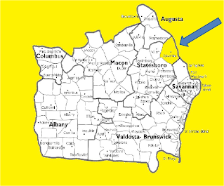georgia map with county lines About Us   Our Lady of the Assumption Catholic Church