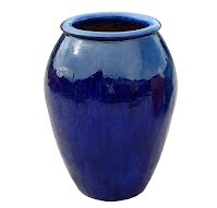 large  -Outdoor-glazed-ceramic-pot