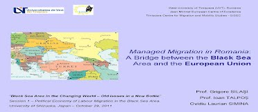 Silasi, Talpos, Simina - Labour migration into Black Sea Area