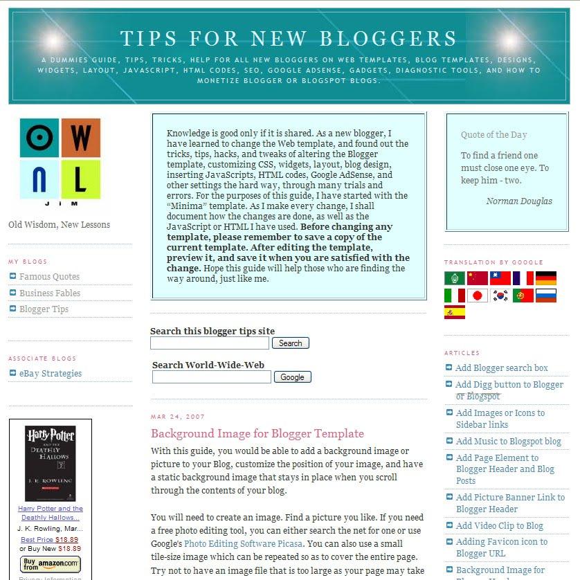 tipsfornewbloggers - ownlblog