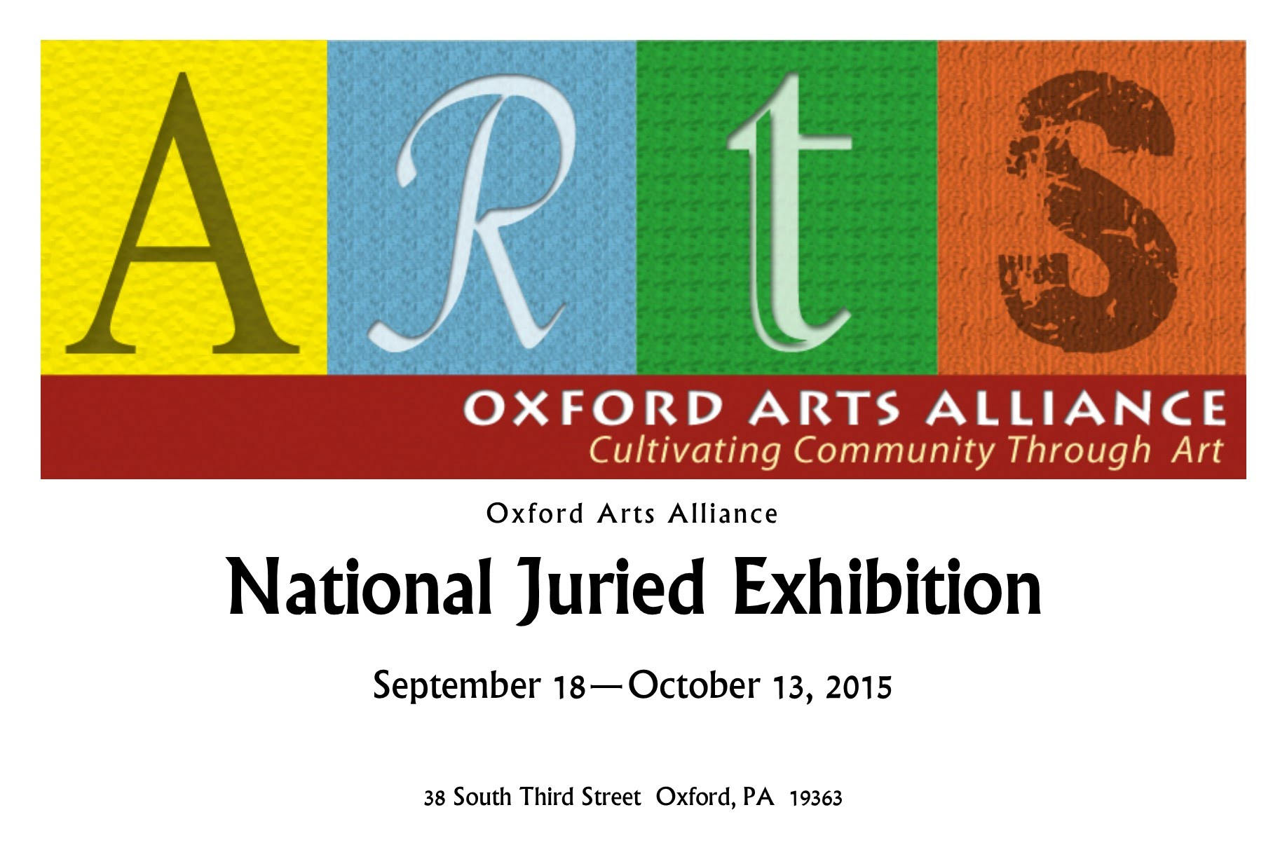 National Juried Show 2015