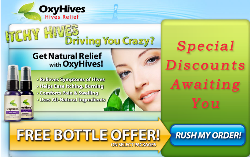 Oxy Hives Hives Relief